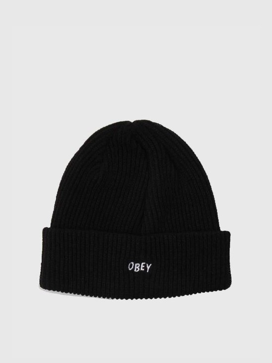Obey Hangman Beanie Black 100030102