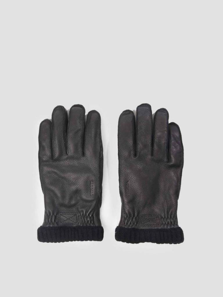 Hestra Hestra Hestra Deerskin Primaloft Rib Glove Black 20210