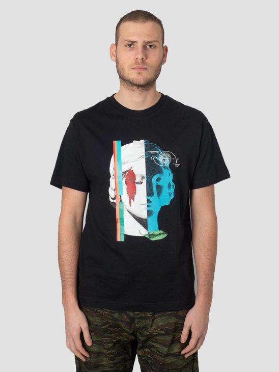 DEVA T-Shirt Amina Mundi Black