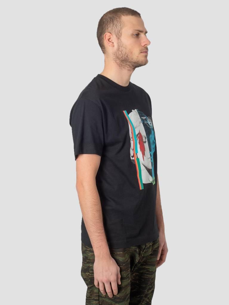 DEVA DEVA T-Shirt Amina Mundi Black