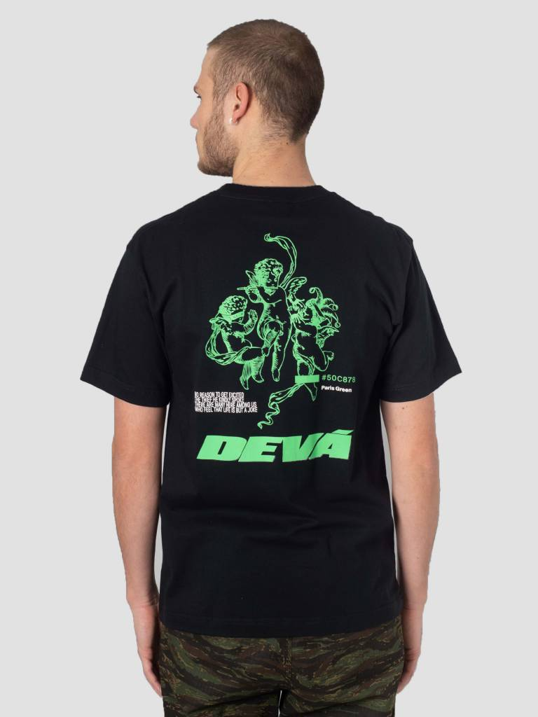 DEVA DEVA T-Shirt Joker & Thief Black