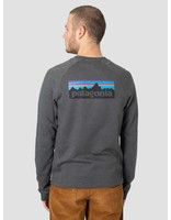 Patagonia Patagonia P-6 Logo Crew Sweatshirt Forge Grey 39550