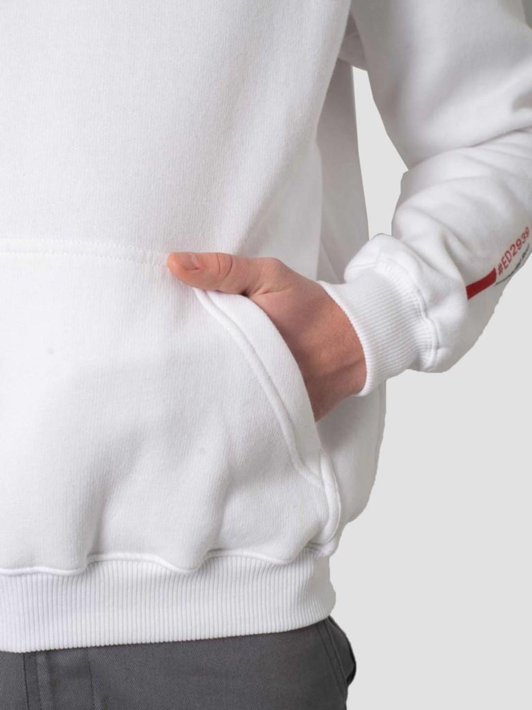 DEVA DEVA Hoodie Logo White