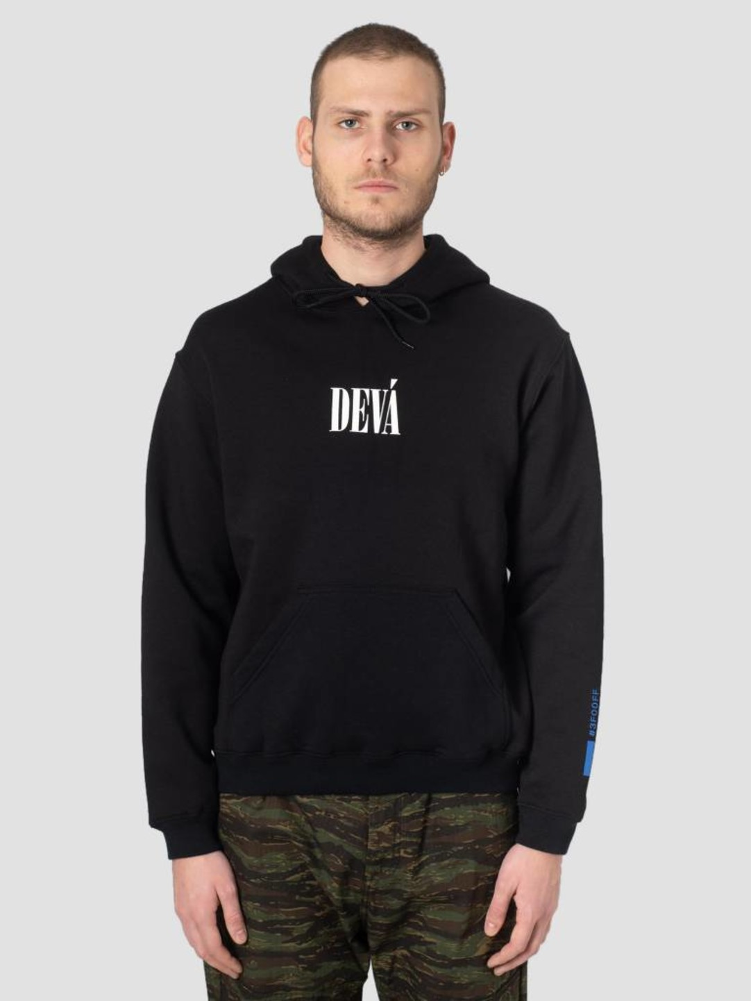 DEVA DEVA Hoodie Underdogs Black