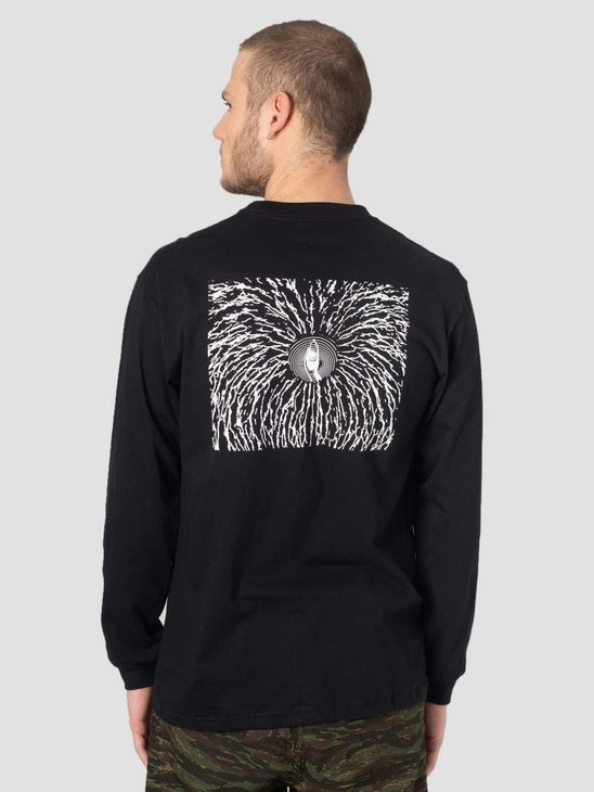 DEVA Longsleeve Cracked Black