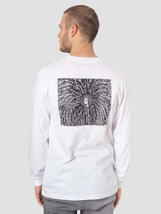 DEVA Longsleeve Cracked White