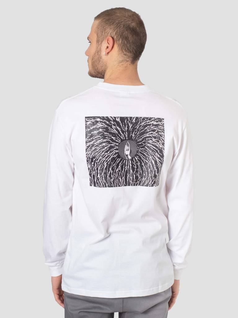 DEVA DEVA Longsleeve Cracked White