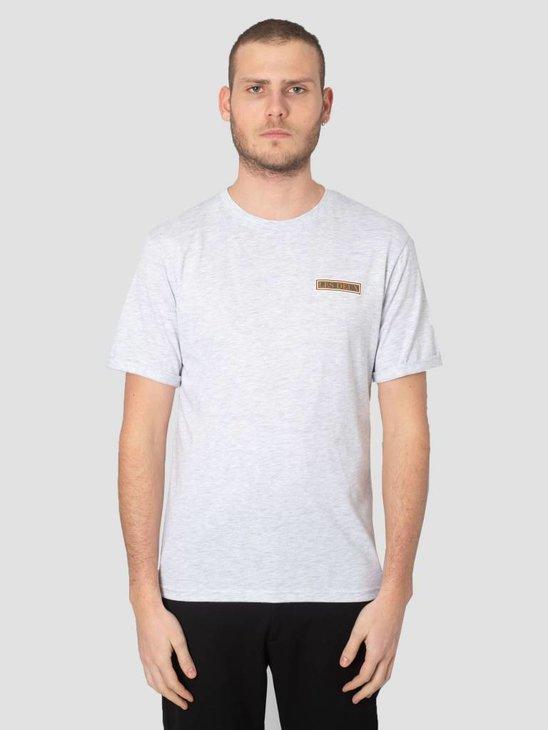 Les Deux Argot T-Shirt Snow Melange LDM101024