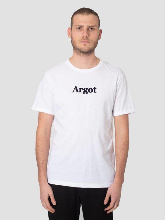 Les Deux Argot T-Shirt White Black LDM101023