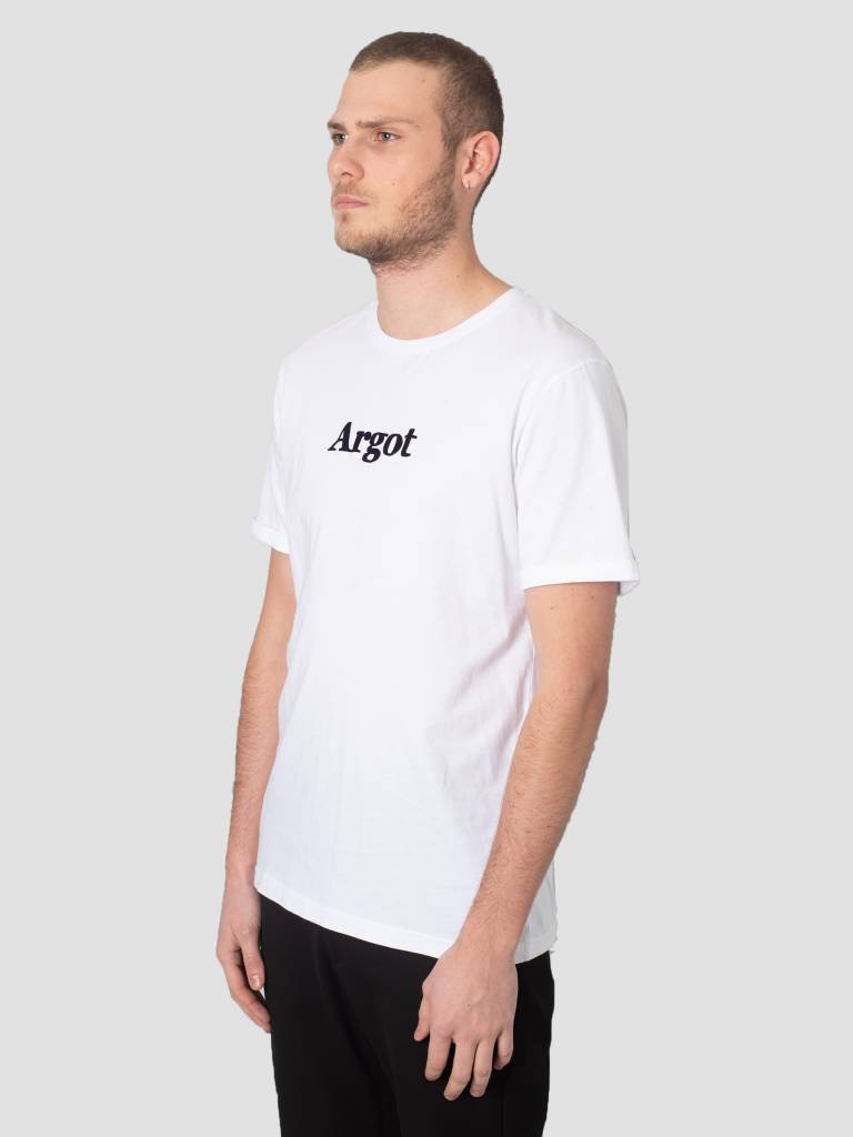 Les Deux Les Deux Argot T-Shirt White Black LDM101023