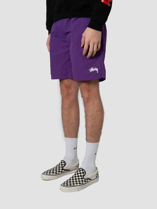 Stussy Stock Water Short Purple 113103