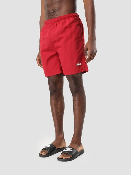 Stussy Stock Water Short Red 113103