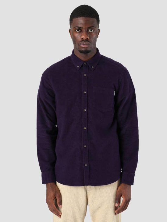 Carhartt WIP Garvin Shirt Lakers I025235-88900
