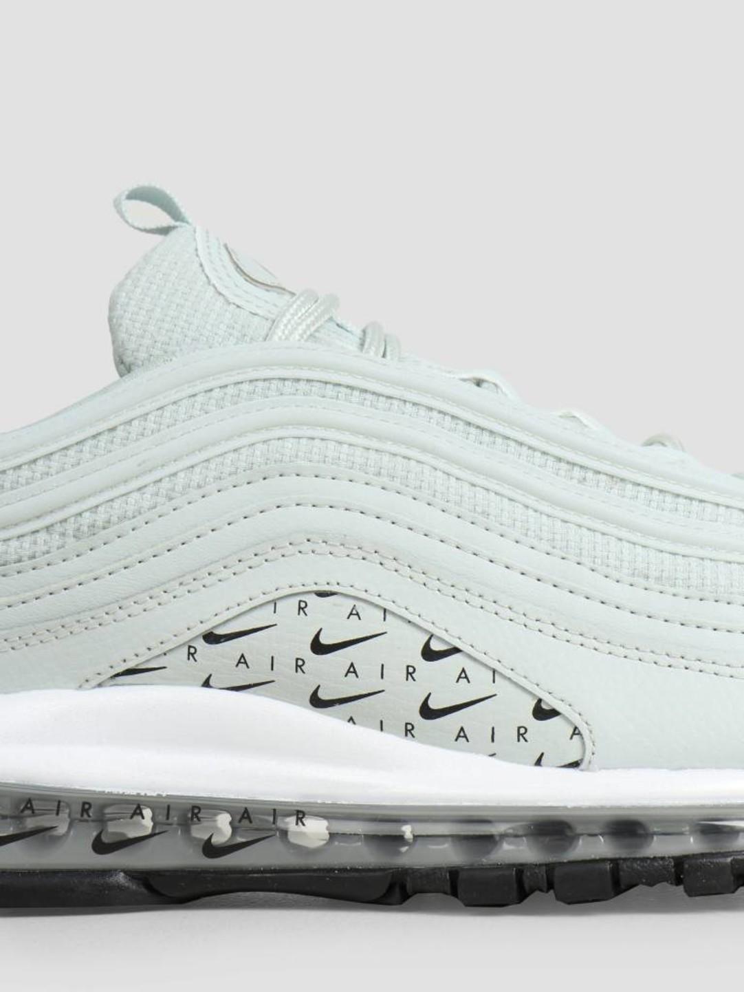 premium selection 6ab01 b6b19 Nike Air Max 97 Lux Light Silver Light Silver Black White Ar7621-002