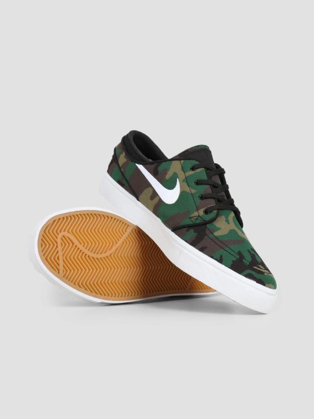 Nike Nike SB Zoom Stefan Janoski Multi-Color White-White-Gum Yellow 615957-901