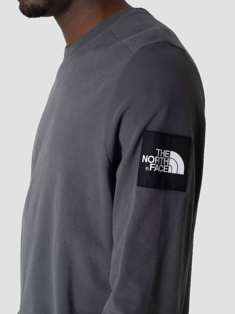 The North Face The North Face Fine 2 Longsleeve Asphalt Grey T93BPH0C5