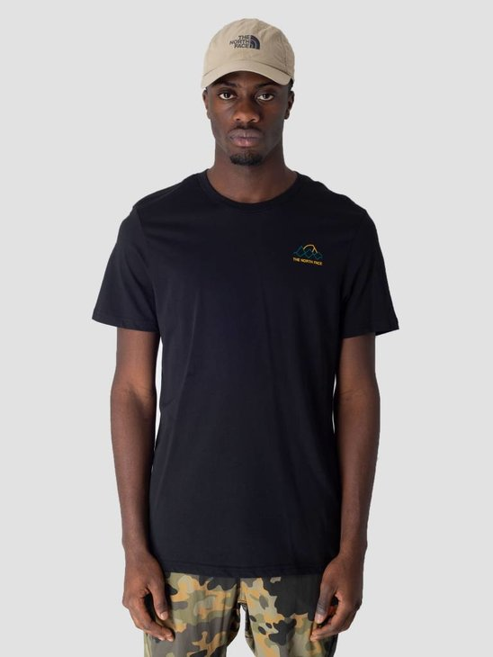The North Face Ridge T-Shirt TNF Black High Rise Grey