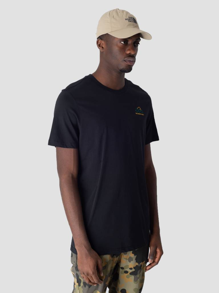 The North Face The North Face Ridge T-Shirt TNF Black High Rise Grey