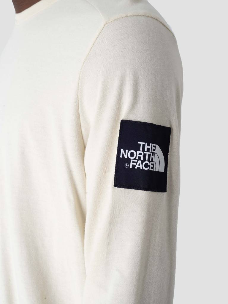 The North Face The North Face Fine 2 Longsleeve Vintage White TNF White