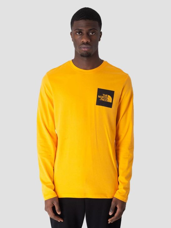 The North Face Fine Longsleeve Zinnia Orange T937FTH6G
