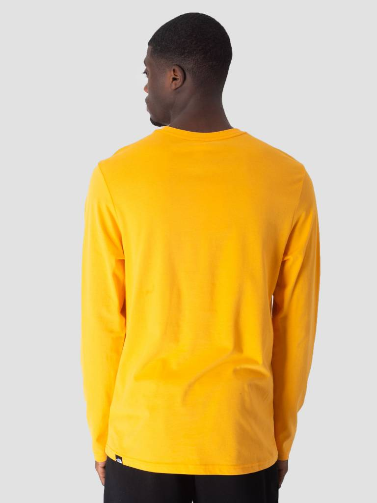 The North Face The North Face Fine Longsleeve Zinnia Orange T937FTH6G