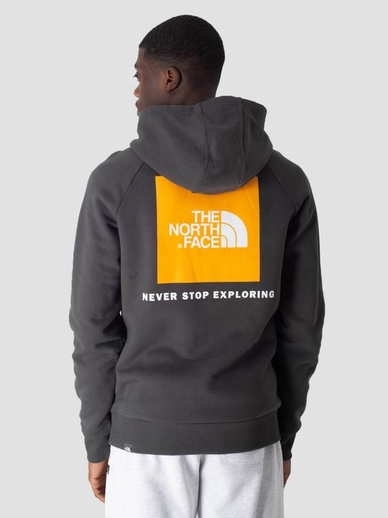 The North Face Raglan Red Box Hoodie Asphlg Znniaorg T92ZWUV7V