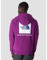 The North Face The North Face Raglan Red Box Hoodie Phlox Purple T92ZWU8NX