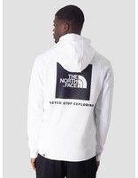 The North Face The North Face Raglan Red Box Hoodie TNF White T92ZWUFN4