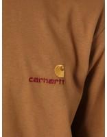 Carhartt Carhartt American Script T-Shirt Hamilton Brown I025711