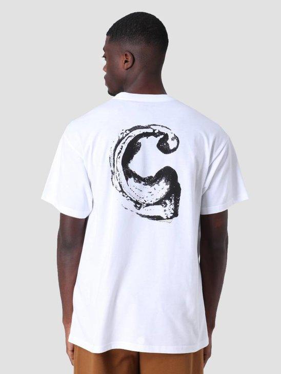 Carhartt WIP Foam C T-Shirt White I026426