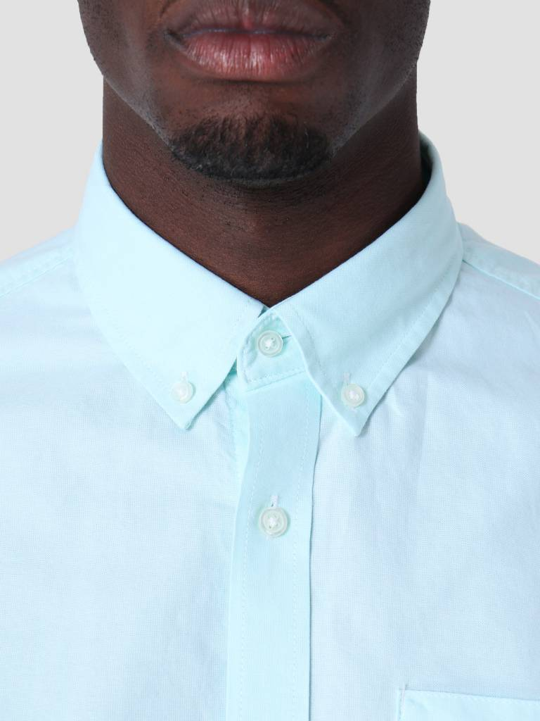 Carhartt WIP Carhartt WIP Longsleeve Button Down Pocket Shirt Light Yucca I022069