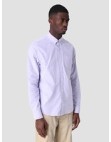 Carhartt WIP Carhartt WIP Longsleeve Button Down Pocket Shirt Soft Lavender I022069