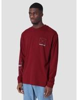 Carhartt Carhartt Longsleeve Dreaming T-Shirt Cranberry Light Yucca I026423