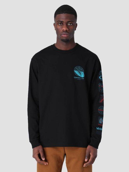 Carhartt WIP Longsleeve Future Romance T-Shirt Black I026413