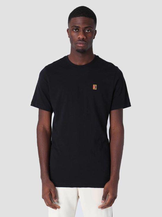 Nike Court T-Shirt Black Bv5809-010
