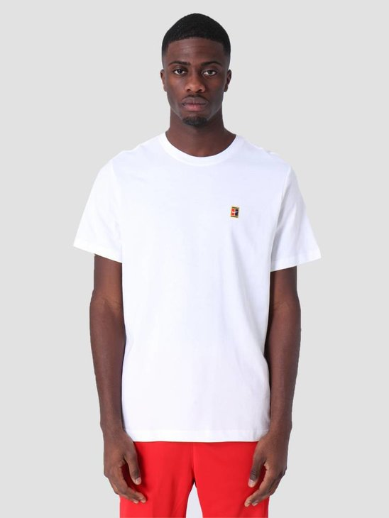 Nike Court T-Shirt White Bv5809-100