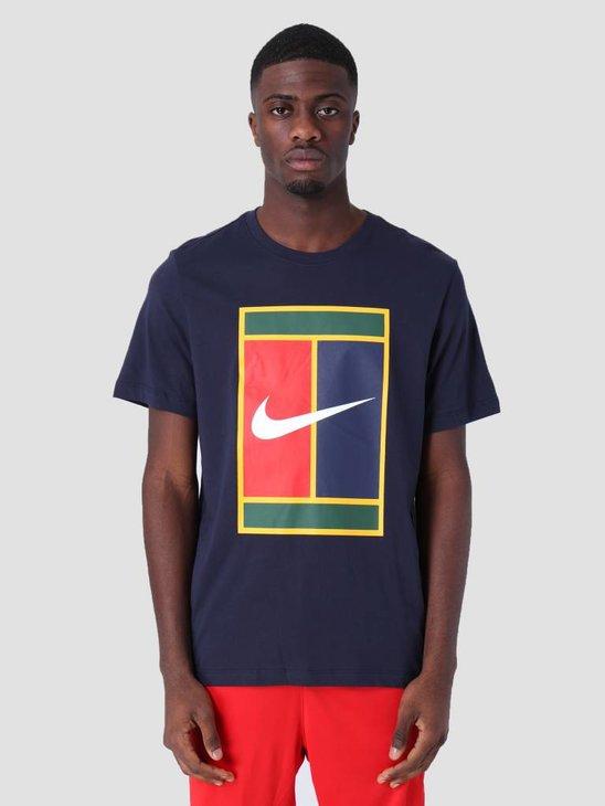 Nike M Nkct T-Shirt Heritage Logo Obsidian Bv5775-451