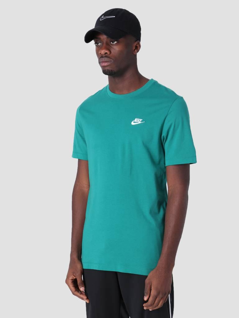 421093ea0a Nike Sportswear T-Shirt Mystic Green White Ar4997-340 - FRESHCOTTON