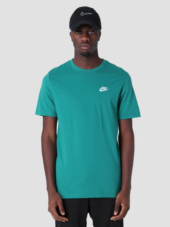 Nike Sportswear T-Shirt Mystic Green White Ar4997-340