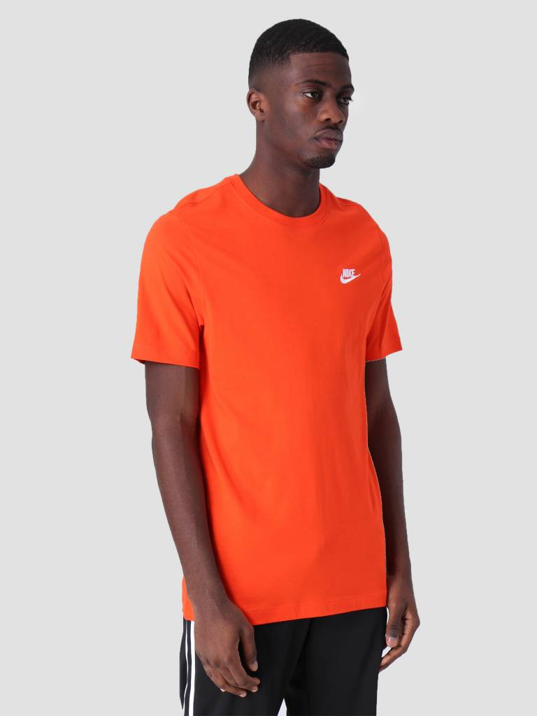 Nike Nike Sportswear T-Shirt Team Orange White Ar4997-891
