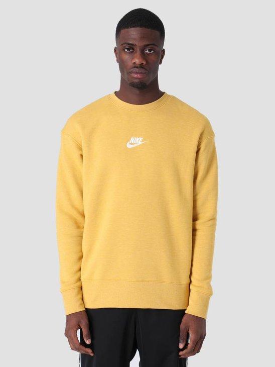 Nike Sportswear Heritage Sweat Gold Dart Htr Sail 928427-711