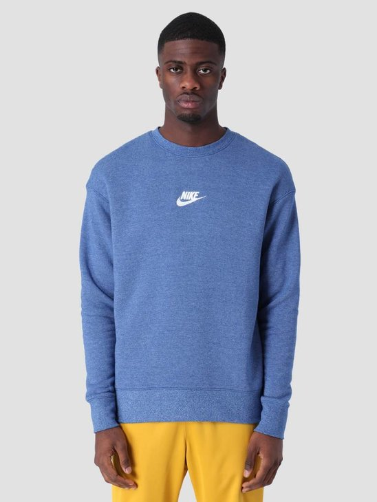 Nike Sportswear Heritage Sweat Indigo Force Htr Sail 928427-438