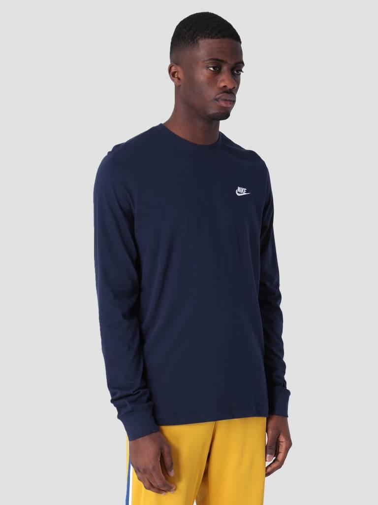Nike Nike Sportswear Longsleeve Obsidian White Ar5193-451