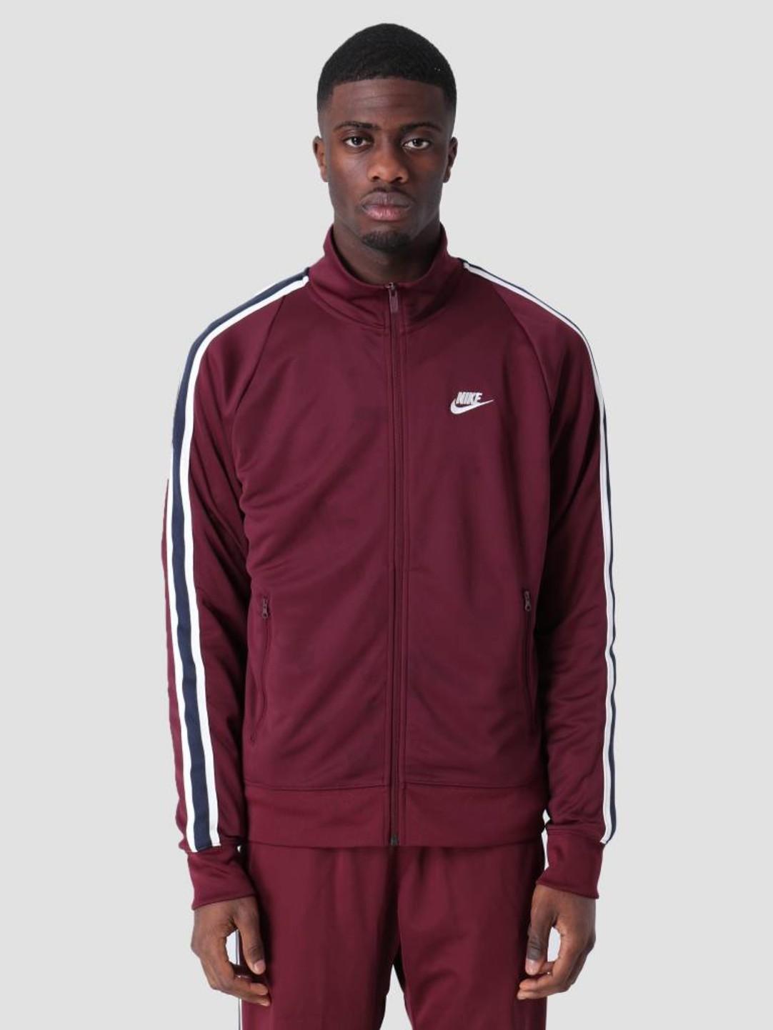 07014b18 Nike Nike Sportswear N98 Sweat Night Maroon Sail Ar2244-681