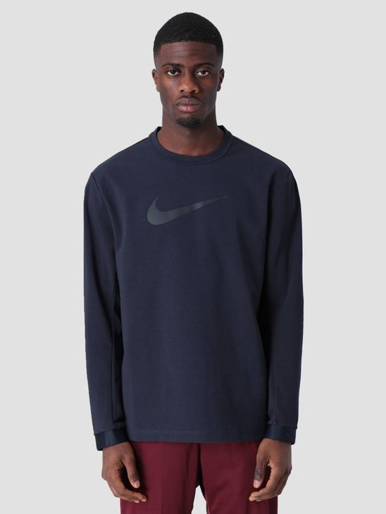 Nike Sportswear Tech Pack Sweat Dark Obsidian Black Black Ar1556-475