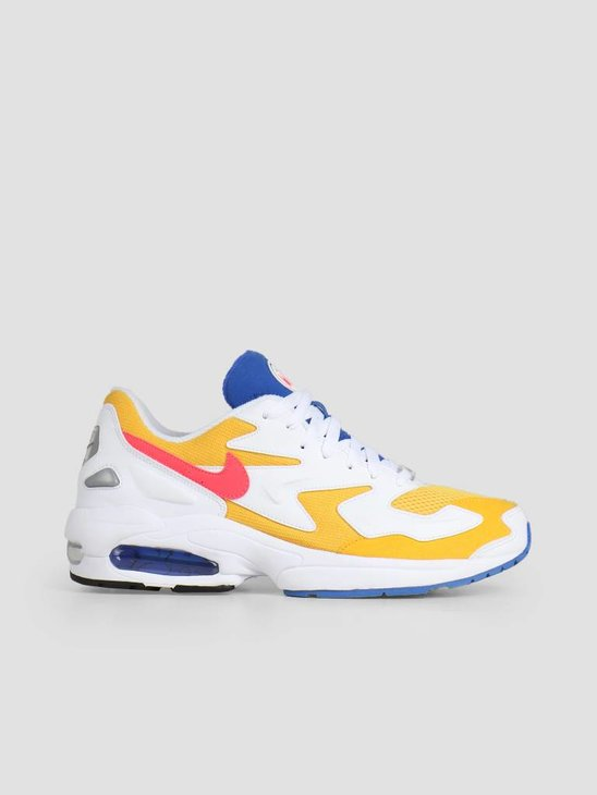 Nike Air Max2 Light University Gold Flash Crimson-Racer Blue Ao1741-700