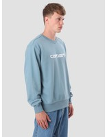 Carhartt WIP Carhartt WIP Sweater Dusty Blue Wax I024679-97590