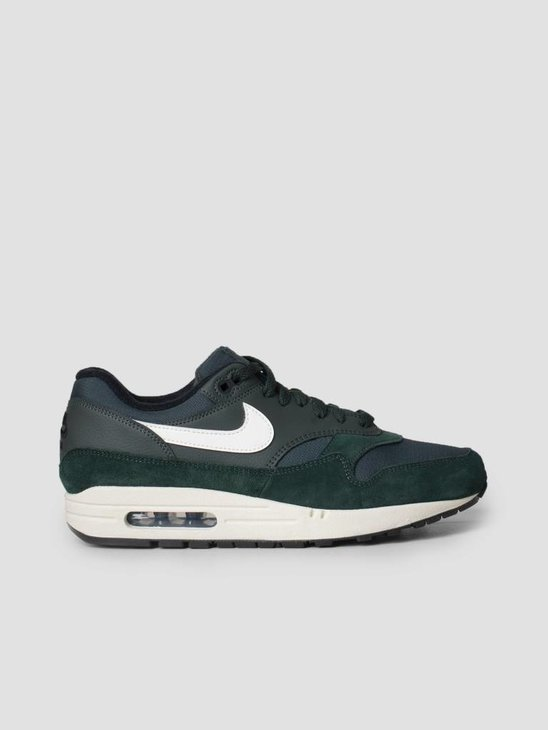 new styles ed834 28ef1 Nike Air Max 1 Shoe Outdoor Green Sail-Black Ah8145-303 ...
