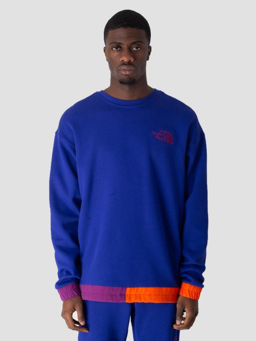 The North Face The North Face 92 Rage Fleececrew Aztec Blu Rage T93MIF9QX