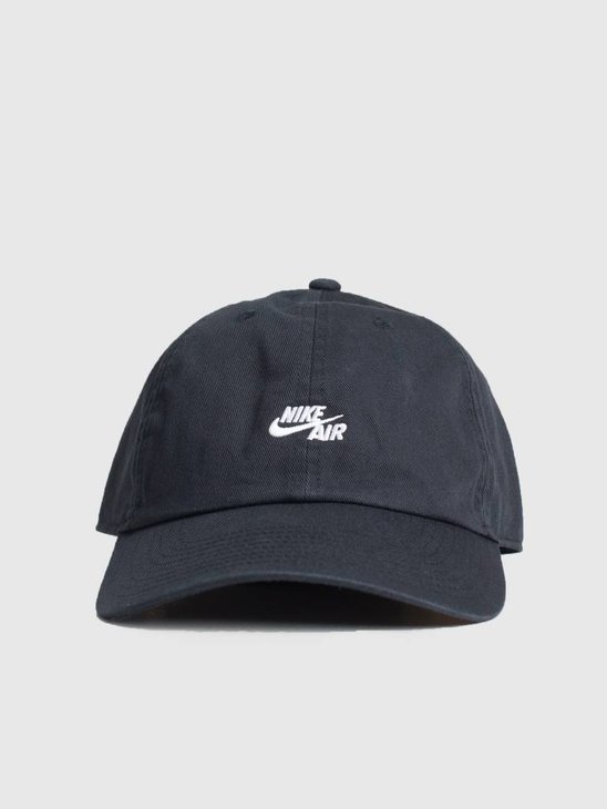 Nike Cap Air Heritage 86 Black Black White 891289-010